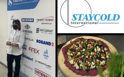 Global Pizza Challenge recipe from Chef Ingrid